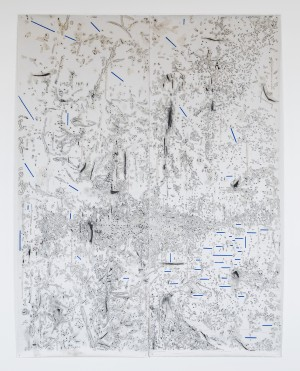 Ania Soliman - Untitled (Large Landscape with Bots)