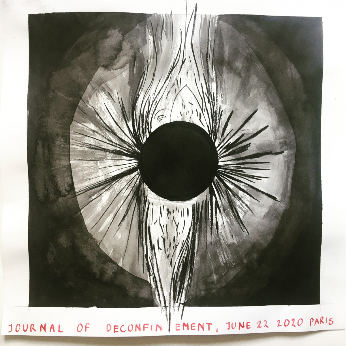 Ania Soliman - Untitled (Eclipse 2020)