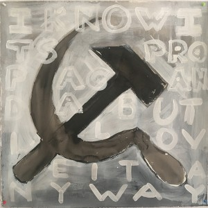 Ania Soliman - Untitled (I Know It's Propaganda but I Love It Anyway: Gray)